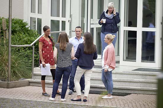Studierende an der PTHV