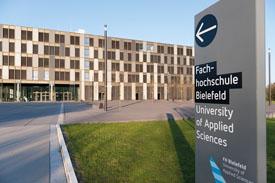 Hauptgebäude der FH Bielefeld