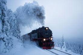 Dampflokomotive im Harz