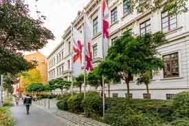 Campus des Fachbereichs Wiesbaden Business School in Wiesbaden