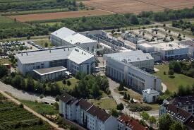 FH Bingen: Luftaufnahme vom Campus Bingen Büdesheim.
