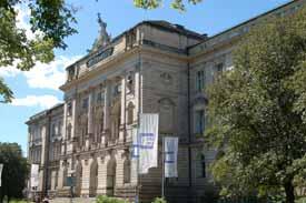 Das Hauptgebäude der Universität Würzburg