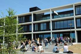 Das Zentrale Hörsaal- und Seminargebäude der Universität Würzburg