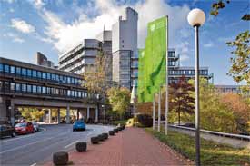 Campus Grifflenberg, Gaußstraße