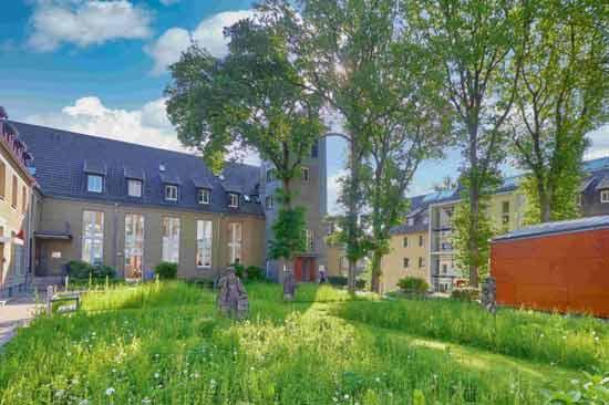 Der Campus der Kirchlichen Hochschule Wuppertal/Bethel