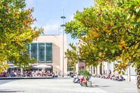 Herbst auf dem Campus der TH Deggendorf