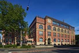 Hauptgebäude der THGA