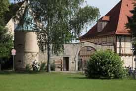 Das Hauptgebäude der Hochschule für Forstwirtschaft Rottenburg