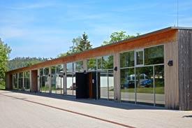 Das Laborgebäude der Hochschule für Forstwirtschaft Rottenburg