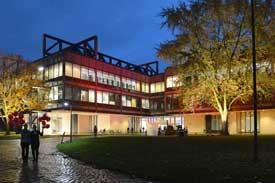 Campus während der Nacht des Wissens