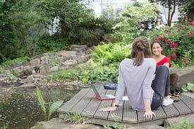 Garten der Universität Witten/Herdecke