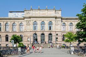 Altgebäude der TU Braunschweig