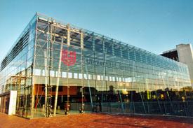 Glashalle der Universität Bremen