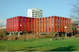 Mensa der Universität Bremen.