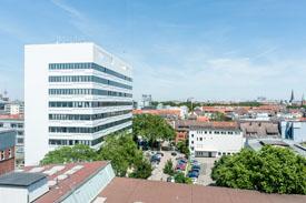 Die Hochschule mit Blick über Bremen - Hochschule Bremen