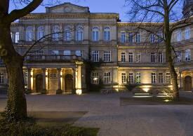In der Dechanatstraße befindet sich der Fachbereich Musik.