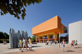 Campus der TU Chemnitz