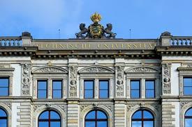 Gebäude der TU Chemnitz