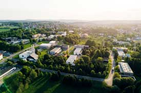 Lustaufnahme der TU Clausthal
