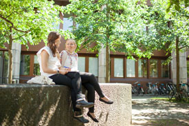 Studierende an der Uni Bamberg