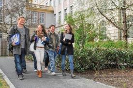 Hochschulgebäude der HTW Dresden