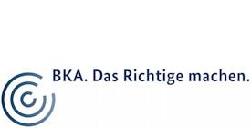 """Logo mit Schriftzug """"BKA. Das Richtige machen."""""""