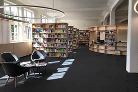 Die Bibliothek am Standort Bielefeld der HSPV-NRW