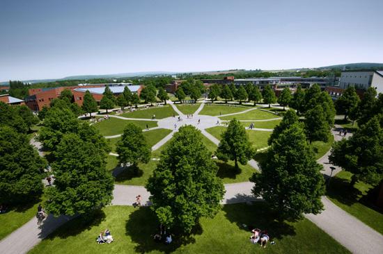 Campus der Uni Bayreuth