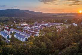 Luftbildaufnahme des Umwelt-Campus Birkenfeld