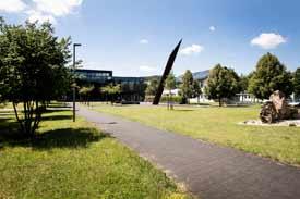 Der zentrale Neubau des Umwelt-Campus Birkenfeld