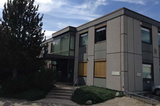 Der Eingangsbereich der Berufsakademie Göttingen