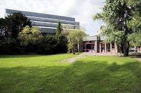 Der Partika-Saal der Robert Schumann Hochschule.