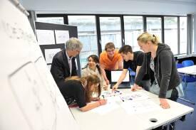 Konzeption, Design und Management von Medien und Informationen ist das Thema aller Studiengänge an der MHMK.