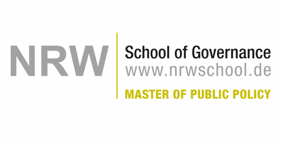Logo der NRW School of Governance, Master of Public Policy