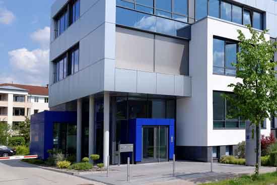Das Gebäude der IBS