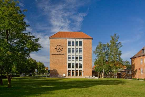 Das Gebäude der Fachhochschule