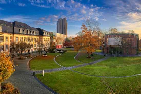Die Gebäude der Bucerius Law School