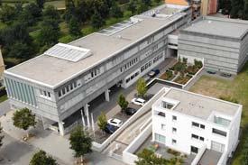 Luftbild der SRH