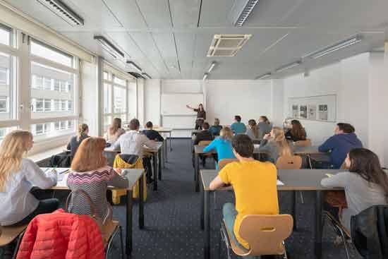 Eine Vorlesung an der SDI München