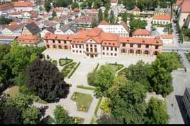 Die Sommerresidenz mit Hofgarten - Verwaltungssitz der Katholischen Universität Eichstätt-Ingolstadt