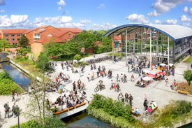 Campus der Hochschule Emden/Leer