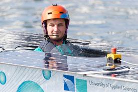 Solarboot der Hochschule Emden/Leer