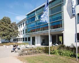 Hochschulgebäude der Fachhochschule Erfurt