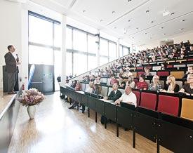 Hörsaal der Fachhochschule Erfurt