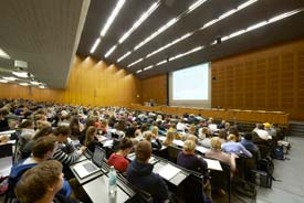 Das Audimax der Friedrich-Alexander-Universität Erlangen-Nürnberg