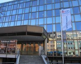 Glasfassade der EBC