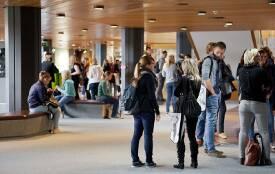 Foyer der HdBA in Mannheim