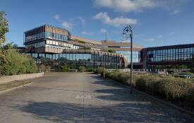Foyer von der Hochschule der Bundesagentur für Arbeit in Schwerin