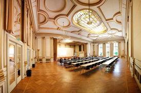 Konzertsaal im Gebäude der BSP Berlin und MSB Berlin, Villa Siemens