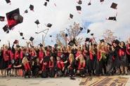 MSH Absolventen feiern Ihren Abschluss in der Hafencity Hamburg